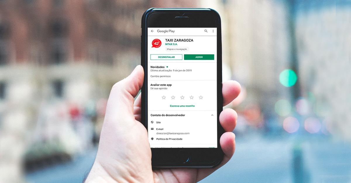 aplicacion de taxi en zaragoza