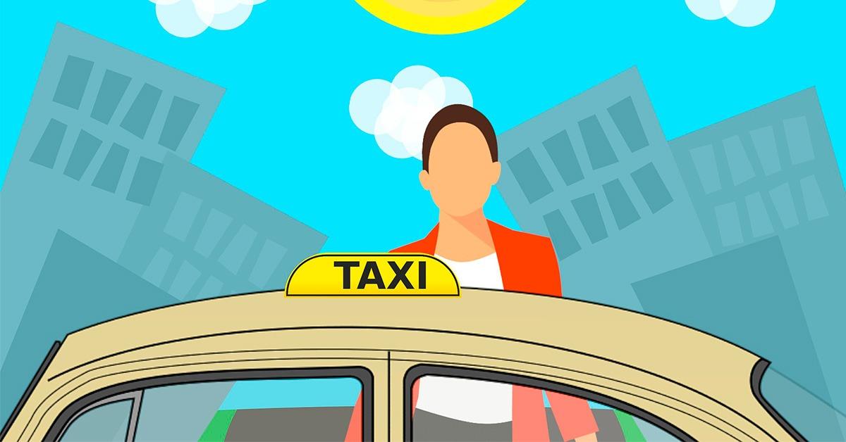 derechos como pasajero en un taxi
