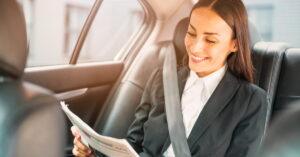 taxi adaptado para empresas