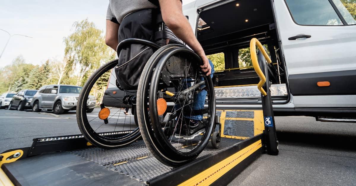 Taxis adaptados para personas en sillas de ruedas