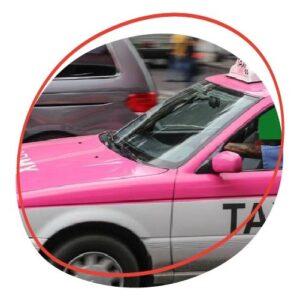 taxis en Ciudad de México