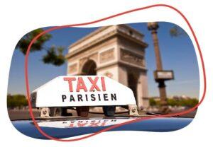 taxis en Paris